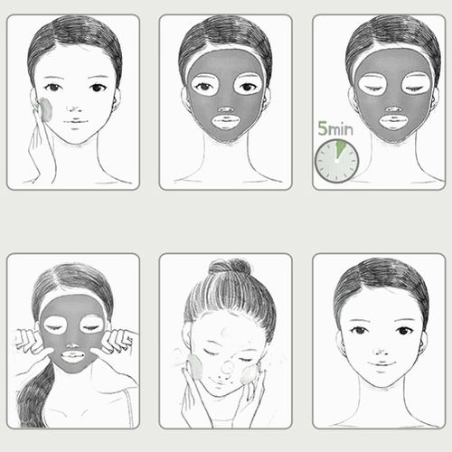 ماسک-آبرسان-حبابی-پوست-بیوآکوا